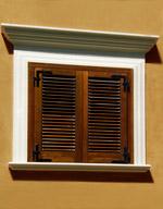Cornici per finestre rettangolari